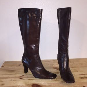NWT Nine West Leather Boots